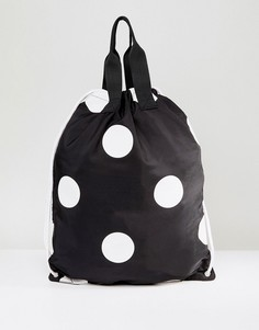 Рюкзак в горошек со шнурком ASOS - Мульти