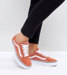 Оранжевые кроссовки Vans Old Skool - Оранжевый