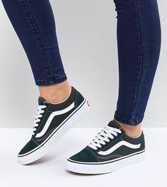 Зеленые кроссовки Vans Old Skool - Мульти