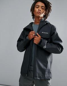 Черная водонепроницаемая утепленная куртка с капюшоном Columbia Huntsville Peak - Черный