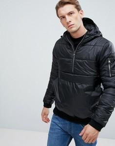 Дутая куртка D-Struct - Черный