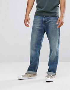 Свободные прямые джинсы Lee - Синий