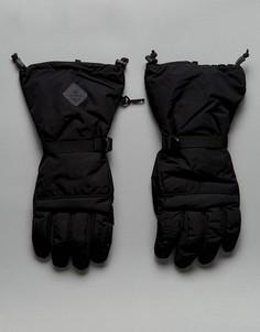 Черные утепленные водонепроницаемые перчатки Didriksons 1913 Rover - Черный