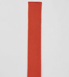 Вязаный галстук Noose & Monkey - Оранжевый