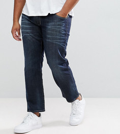 Синие джинсы классического кроя Replika PLUS Mick - Синий