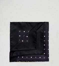 Платок для пиджака в горошек Noose & Monkey - Черный