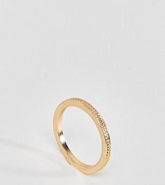 Фактурное кольцо на мизинец эксклюзивно для ASOS CURVE - Золотой