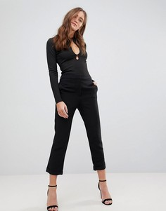 Укороченные брюки Finders Keepers Huntr - Черный