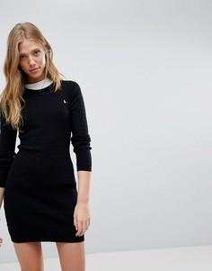Трикотажное платье Jack Wills - Черный
