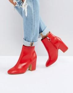Ботинки на каблуке Pimkie - Красный