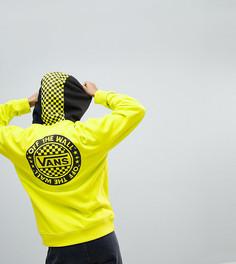 Худи свободного кроя желтого цвета Vans эксклюзивно для Asos - Желтый