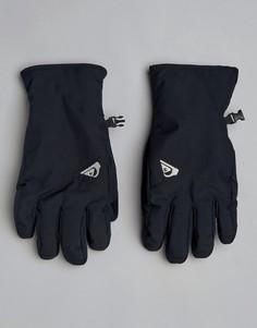 Черные лыжные перчатки Quiksilver - Черный