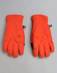 Красные горнолыжные перчатки Quiksilver Cross - Оранжевый