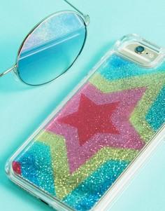 Чехол для iPhone 6/7/8 с разноцветными блестящими звездами Skinnydip - Мульти