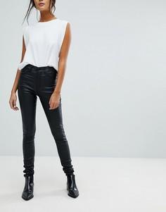 Супероблегающие джинсы с покрытием Dr Denim - Черный