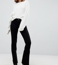Черные расклешенные джинсы со стрелками ASOS PETITE - Черный