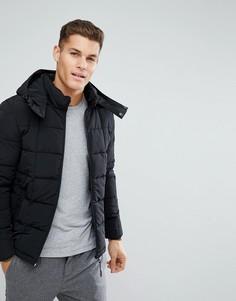 Черная стеганая куртка Esprit - Черный