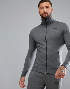Серая спортивная куртка Muscle Monkey - Серый
