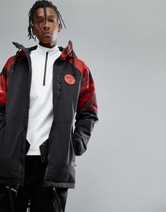 Черная лыжная куртка с капюшоном Armada Carson - Черный