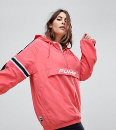 Розовая ветровка с капюшоном Puma Plus эксклюзивно для ASOS - Розовый