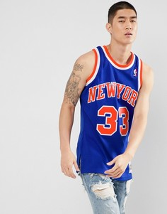 Синяя майка Mitchell & Ness NBA New York - Синий