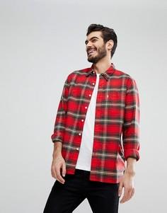 Рубашка с принтом тартан и карманом Levis Sunset - Красный Levis®