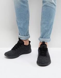 Черные кроссовки River Island - Черный