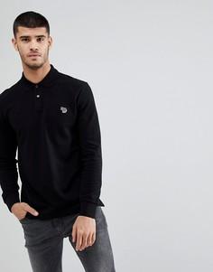 Черная футболка-поло с логотипом PS Paul Smith - Черный