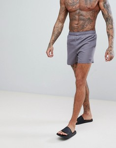 Серые короткие шорты для плавания Nike Volley NESS8509-071 - Серый