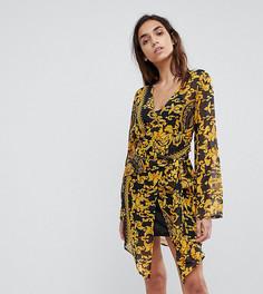 Платье-рубашка с принтом Missguided - Золотой
