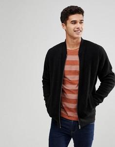 Флисовая куртка Blend - Черный