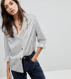 Пижамная рубашка в полоску Reclaimed Vintage Inspired - Мульти