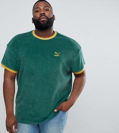 Зеленая футболка Puma PLUS эксклюзивно для ASOS - Зеленый