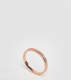 Кольцо из позолоченного серебра ASOS - Медный