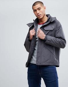 Серая куртка средней плотности Abercrombie & Fitch - Серый