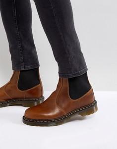 Ботинки челси из вощеной кожи Dr Martens Hardy - Коричневый