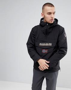 Черная куртка с карманами Napapijri Rainforest - Черный