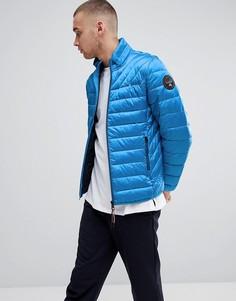 Синяя стеганая куртка Napapijri Aerons - Синий