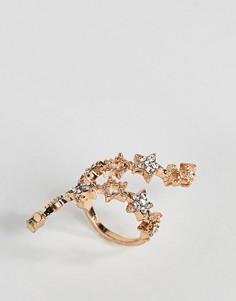 Кольцо со звездой New Look - Золотой