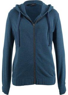 Куртка с эластичным нижним краем (темно-синий) Bonprix