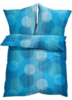 Постельное белье Ким, поликоттон (синий) Bonprix
