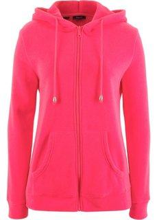 Куртка из флиса (ярко-розовый гибискус) Bonprix