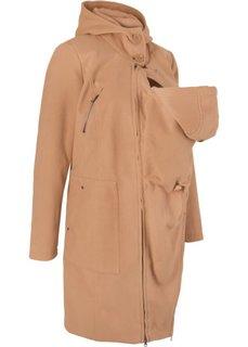Пальто с защитной вставкой для малыша (кофе-глясе) Bonprix