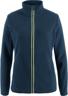 Куртка из флиса (темно-синий) Bonprix