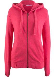 Куртка с эластичным нижним краем (ярко-розовый гибискус) Bonprix