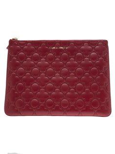 кошелёк с тиснёным цветочным узором Comme Des Garçons Wallet