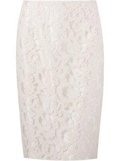 кружевная юбка-карандаш Martha Medeiros