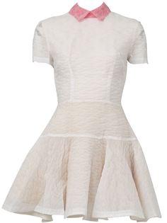 платье Brie с контрастным воротником Alex Perry