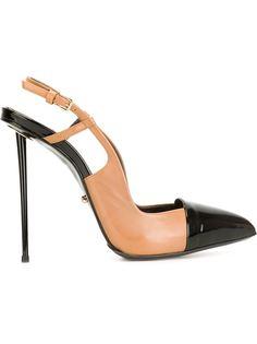 туфли на шпильках с ремешком на пятке Marco Proietti Design