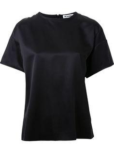 футболка с потайной застежкой-молнией Jil Sander